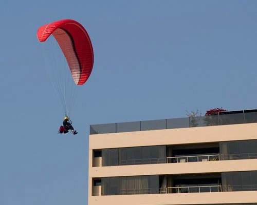 Landing a parachute: FAIL