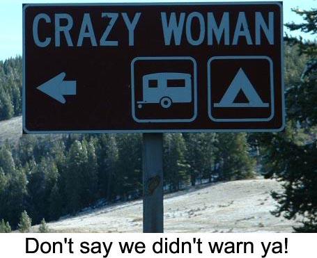 Craaaazy woman!!!