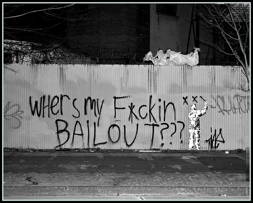 Where is my feckin bailout?