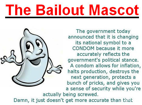 New Bailout Mascot