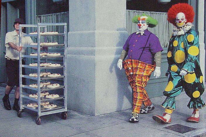 Clowning about